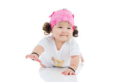 Uroczy azjatykci dziecko Fotografia Stock