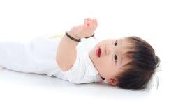Uroczy azjatykci dziecko Zdjęcia Stock