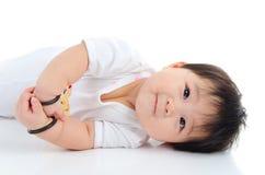 Uroczy azjatykci dziecko Obraz Stock