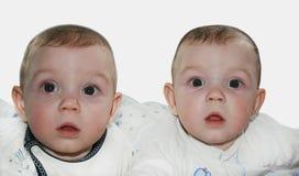 Uroczy bliźniacy Obraz Royalty Free