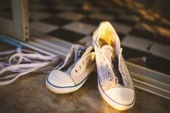 Uroczy buty Obrazy Royalty Free