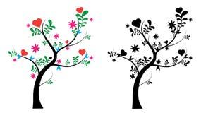 uroczy drzewo ilustracja wektor