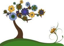 uroczy drzewo Royalty Ilustracja