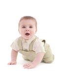 uroczy dziecka błękit puszka oczy target1109_1_ portret Zdjęcie Stock
