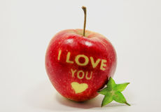 Uroczy jabłko Zdjęcia Royalty Free