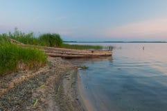 Uroczy jezioro Fotografia Royalty Free