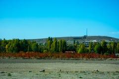 Uroczy kolory jesień w Phrygian dolinie Fotografia Stock