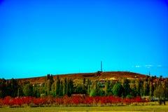 Uroczy kolory jesień w Phrygian dolinie Obraz Royalty Free