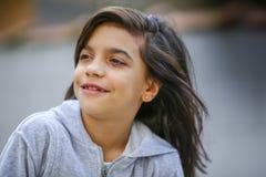 Uroczy nastoletni dziewczyna portret Zdjęcia Royalty Free