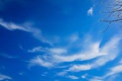 Uroczy niebo Zdjęcie Royalty Free
