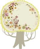 uroczy projekta drzewo Obrazy Royalty Free