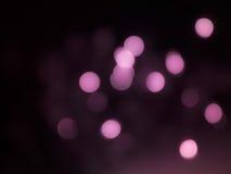 Uroczy różowy bokeh Zdjęcie Royalty Free