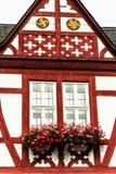 Uroczy ryglowi domy w Limburg dera Lahn, Niemcy Zdjęcia Stock