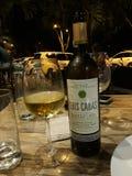 uroczy sposób cieszyć się wino Fotografia Stock