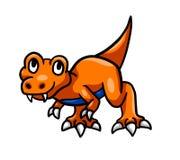 Uroczy T Rex dziecko royalty ilustracja