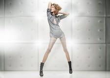 uroczy target2493_0_ blondynki Zdjęcia Stock