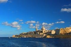 Uroczy Valletta codzienny fotografia stock