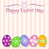 Uroczy Wielkanocny dnia tło, karta i przedmiot Zdjęcie Stock