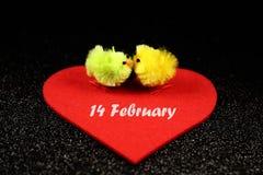 Uroczy wizerunek dla valentines dnia Fotografia Royalty Free