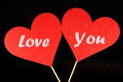 Uroczy wizerunek dla valentines dnia Zdjęcia Royalty Free