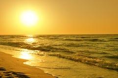 Uroczy wschód słońca Obraz Royalty Free