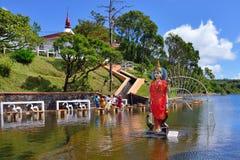 Uroczysta Bassin świątynia Zdjęcia Royalty Free