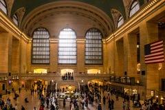 Uroczysta centrali staci Miasto Nowy Jork usa linia horyzontu Duży Apple Obrazy Stock