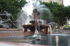 Uroczysta fontanna Obraz Royalty Free