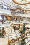 Uroczysta foyeru MS królowa Elizabeth Obraz Stock