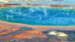 Uroczysta Graniastosłupowa wiosna przy Yellowstone zbiory
