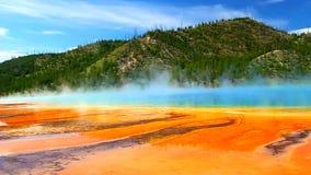 Uroczysta Graniastosłupowa wiosna Yellowstone zbiory
