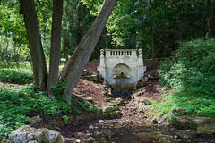 Uroczysta kaskada w parku Pavlovsk saint petersburg Obrazy Royalty Free