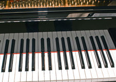 uroczysta klawiaturowa fortepianowa porcja Obraz Royalty Free