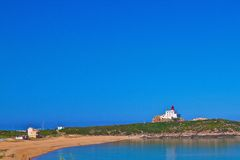 Uroczysta Le plaża phare Zdjęcie Royalty Free