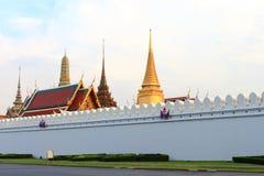 Uroczysta pałac ściana Bangkok Zdjęcie Royalty Free