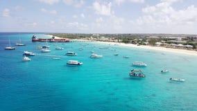 Uroczysta turczynka w Caicos i turczynkach Zdjęcie Stock