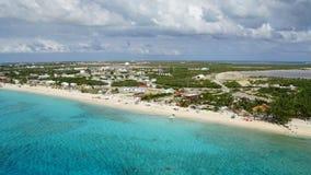 Uroczysta turczynki wyspa w Caicos wyspach i turczynkach Obrazy Stock