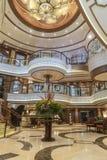Uroczysta wejściowa foyeru MS królowa Elizabeth Obraz Royalty Free