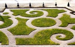 uroczyste francuski ogród Zdjęcia Royalty Free