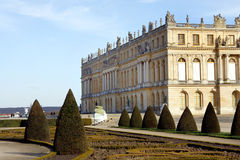 uroczyste francuski ogród Obrazy Royalty Free