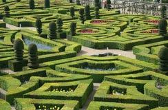 uroczyste francuski ogród Obrazy Stock