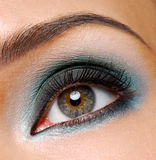 uroczyste mody makijaż zdjęcia stock