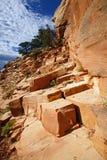 Uroczystego jaru park narodowy, Arizona usa Zdjęcia Royalty Free