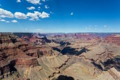 Uroczystego jaru parka narodowego krajobraz, Arizona zdjęcie stock