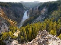 Uroczystego jaru spadki, Yellowstone park narodowy Zdjęcie Royalty Free
