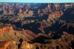 Uroczystego jaru wschód słońca, Uroczystego jaru park narodowy, Arizona Fotografia Royalty Free