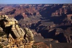 Uroczystego jaru wschód słońca, Uroczystego jaru park narodowy, Arizona Zdjęcie Stock