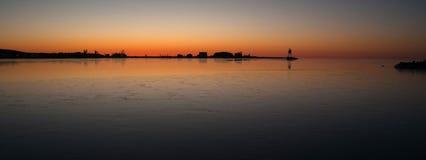 Uroczystego Marais światła przełożonego Cook okręgu administracyjnego Minnestoa Jeziorny usa Fotografia Stock