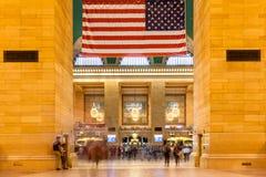 Uroczysty środkowy dworzec w Manhattan Nowy Jork Zlany - usa - Obraz Royalty Free