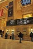 Uroczysty Środkowy staci kolejowej wnętrze, Nowy Jork, usa Zdjęcie Royalty Free